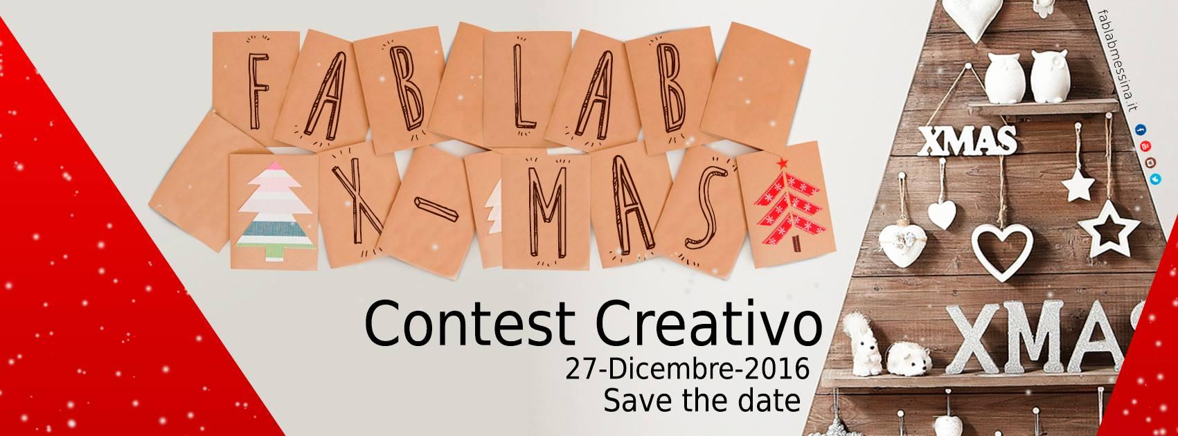 FabLab X-Mas – Contest Creativo