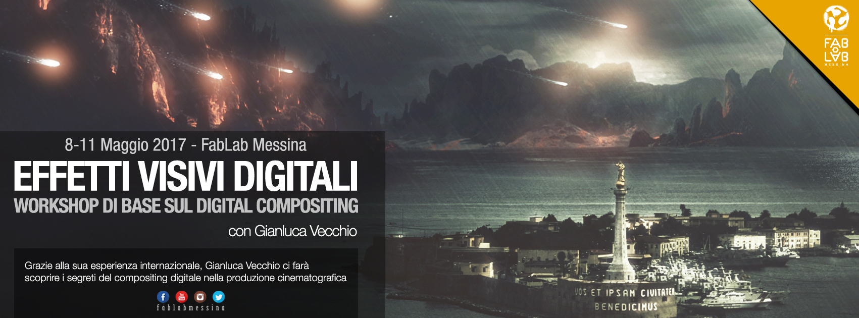 Effetti Visivi Digitali – Workshop di base sul Digital Compositing