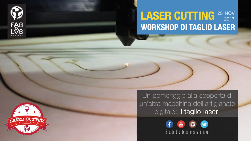 LASER CUTTING – Workshop di taglio laser