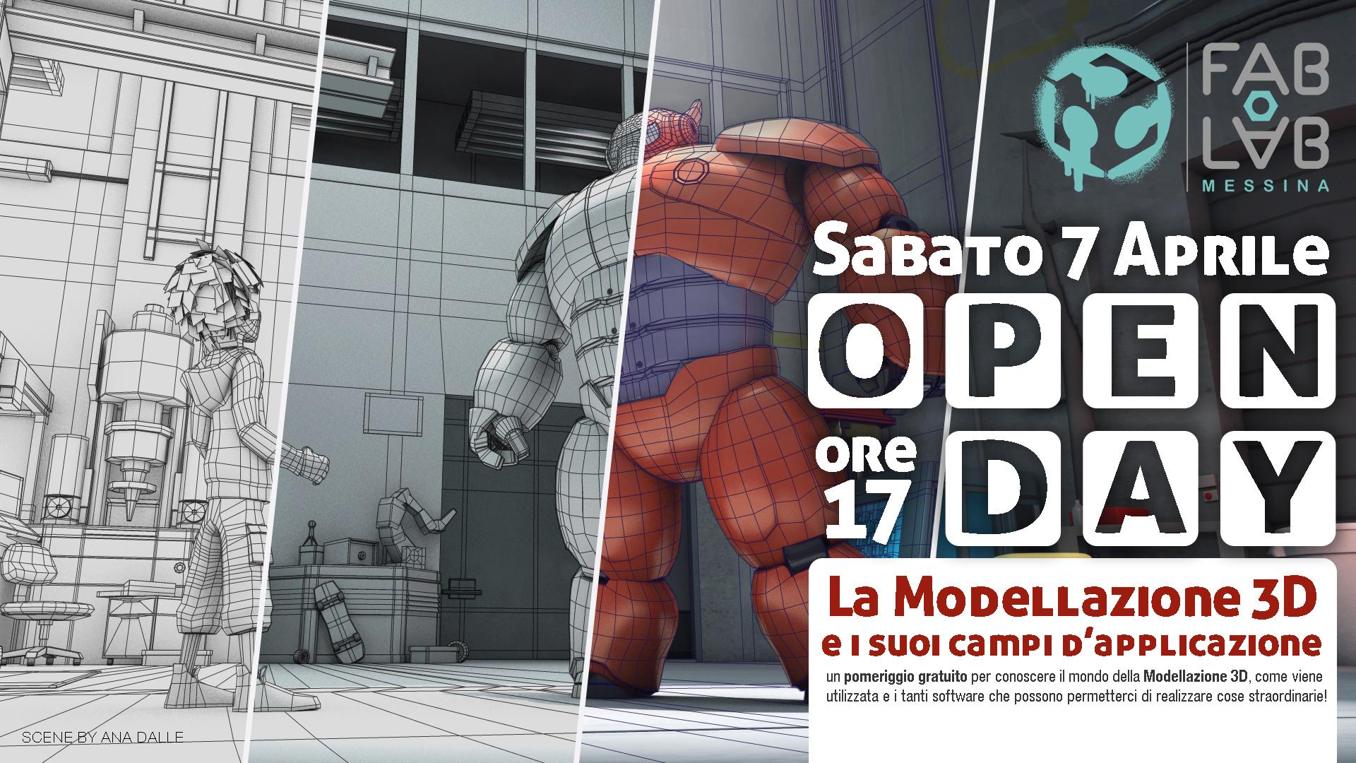 Open Day – Modellazione 3D