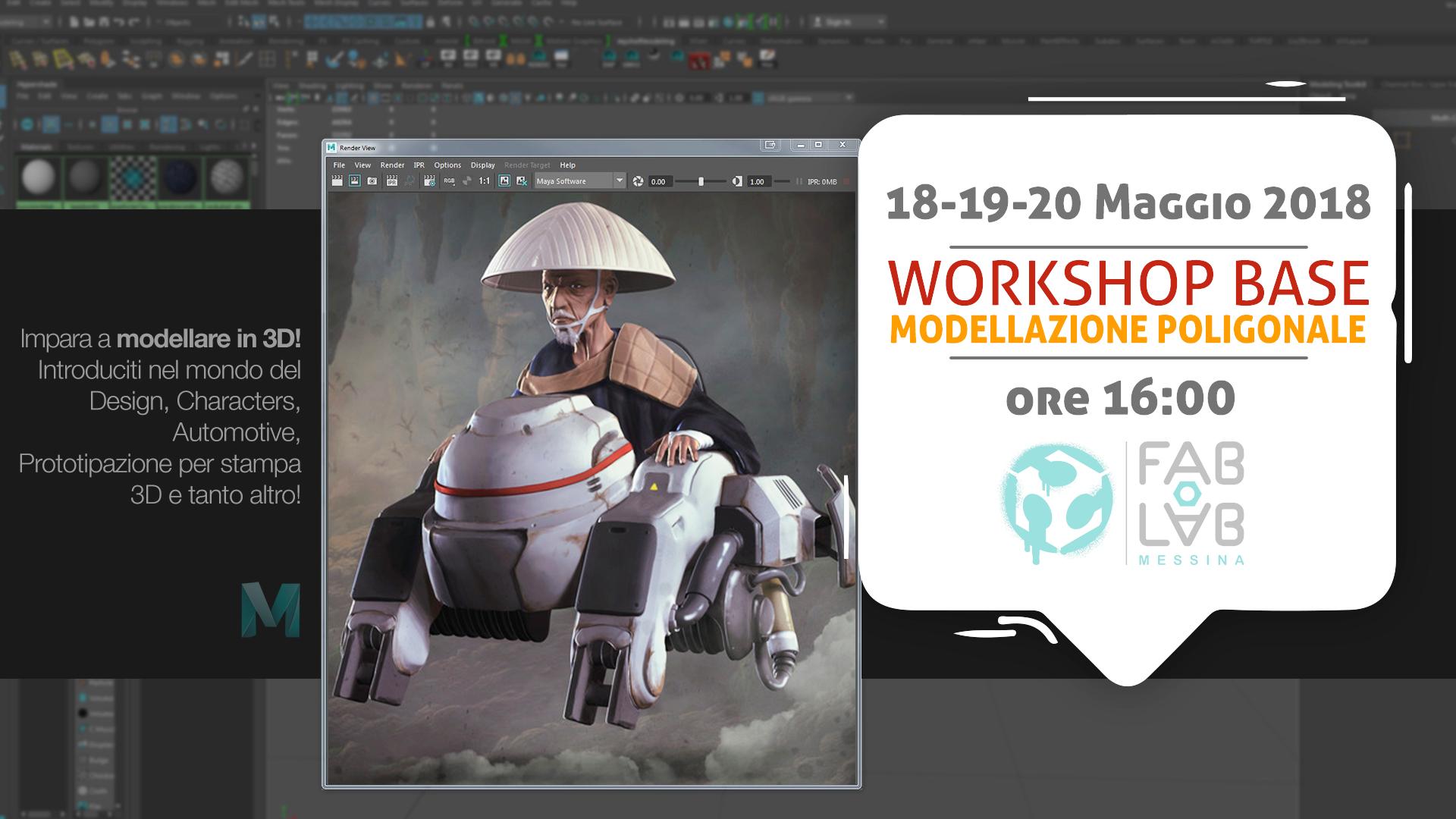 Workshop di Modellazione Poligonale