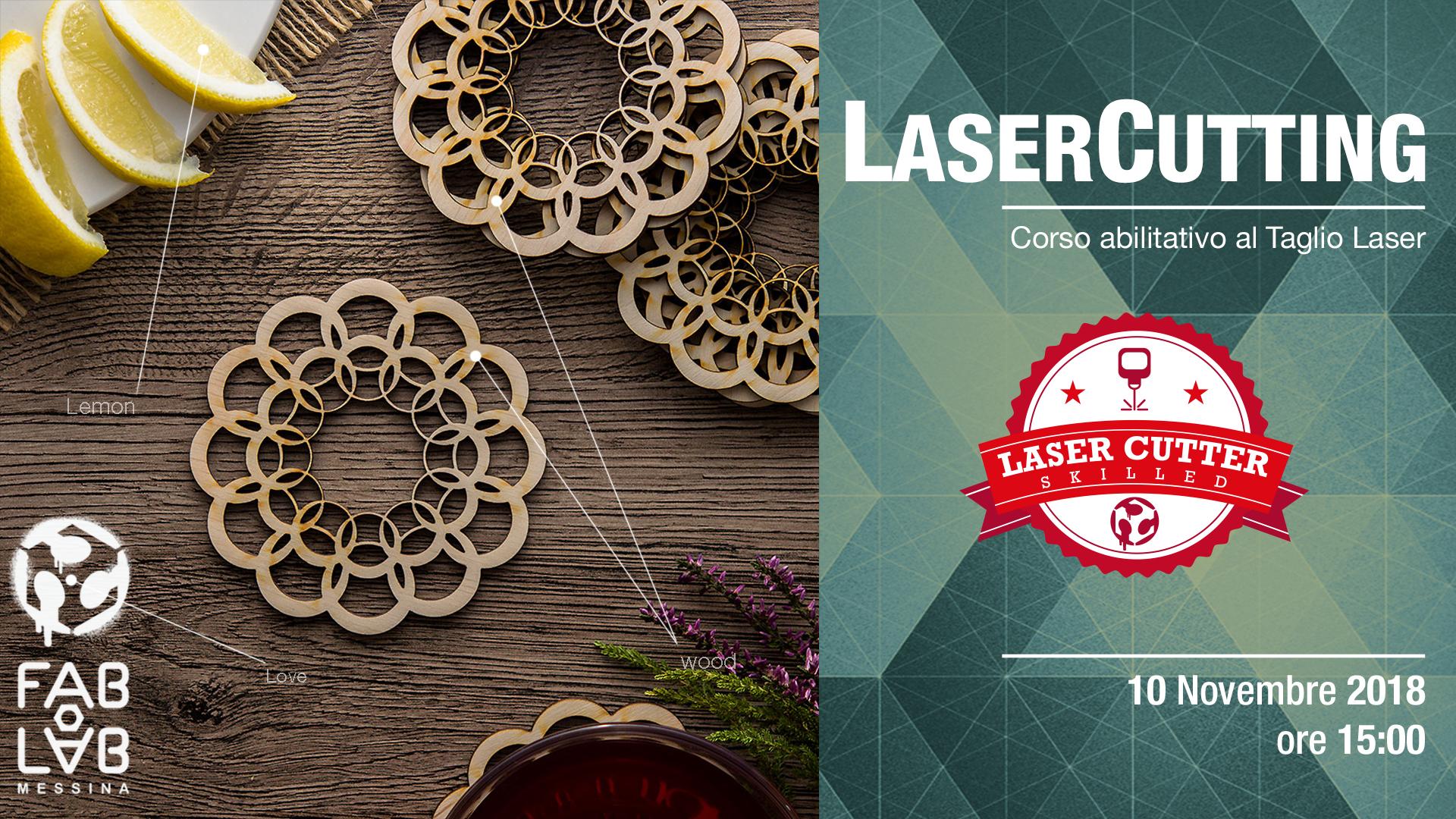 LASER CUTTING – Corso di Taglio Laser