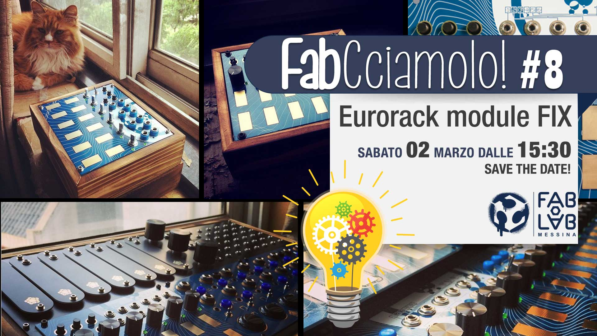 FabCciamolo!#8 Eurorack module FIX