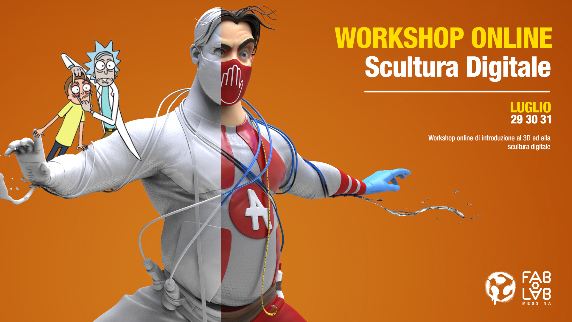 Workshop di Scultura 3D