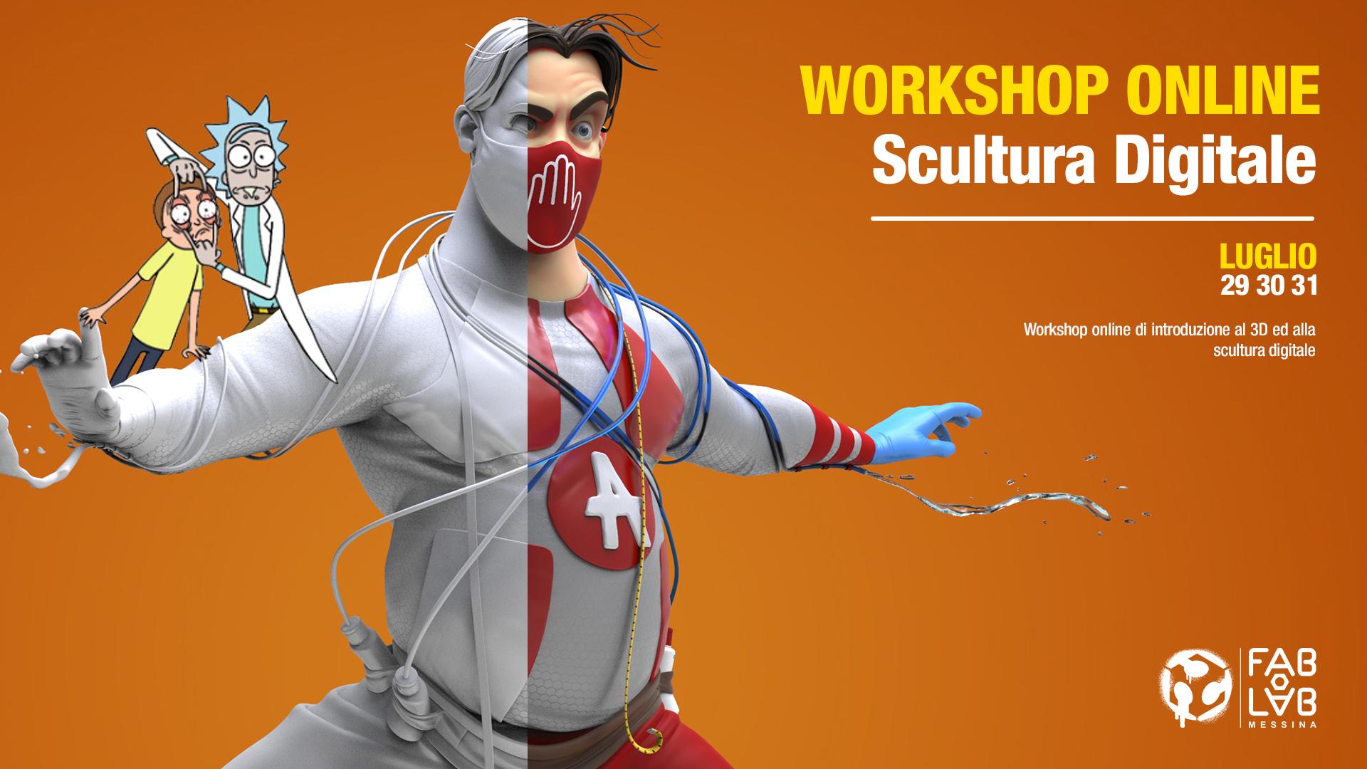 Workshop di Scultura 3D